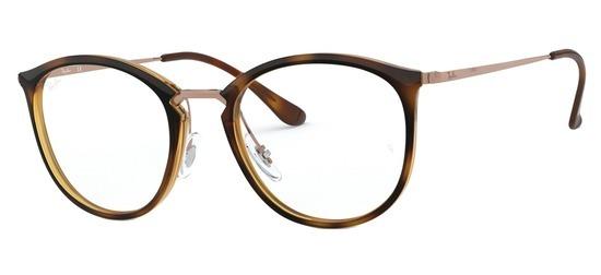 lunettes de vue Ray-Ban RX7140-5687 Havane Gun