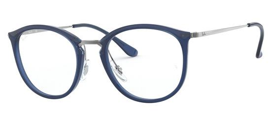 lunettes de vue Ray-Ban RX7140-5752 Bleu Argent