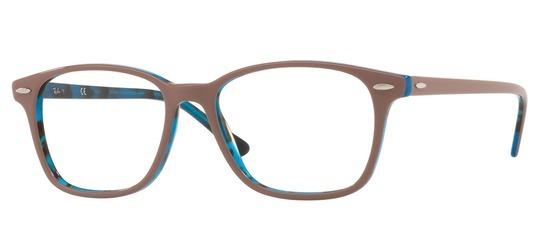 lunettes de vue Ray-Ban RX7119-5715 Marron Bleu