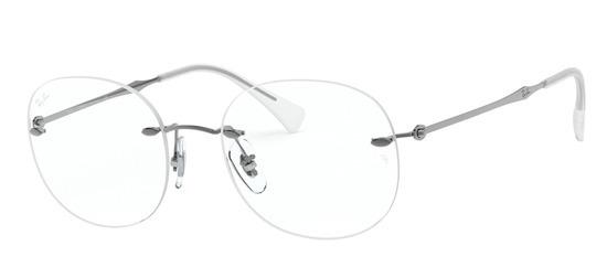 lunettes de vue Ray-Ban RX8747-1000 Gris-Gun clair
