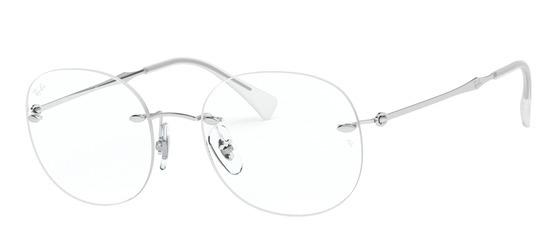 lunettes de vue Ray-Ban RX8747-1002 Argent