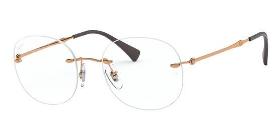 lunettes de vue Ray-Ban RX8747-1131 Marron Bronze