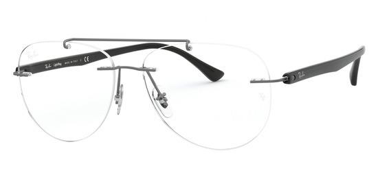 lunettes de vue Ray-Ban RX8749-1128 Gun sombre