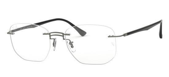 lunettes de vue Ray-Ban RX8757-1128 Gun sombre Noir