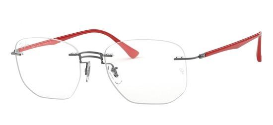lunettes de vue Ray-Ban RX8757-1192 Gun Rouge