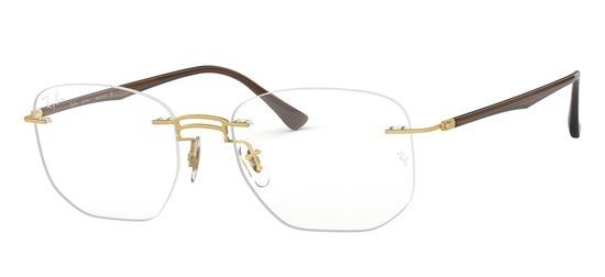 lunettes de vue Ray-Ban RX8757-1194 Or Noir