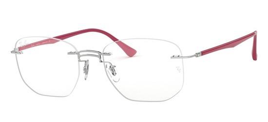 lunettes de vue Ray-Ban RX8757-1195 Argent Marron
