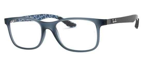 lunettes de vue Ray-Ban RX8903-5262 Bleu Opalin Carbone