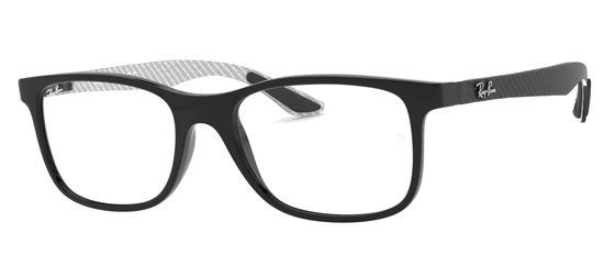 lunettes de vue Ray-Ban RX8903-5681 Noir Gris Carbone