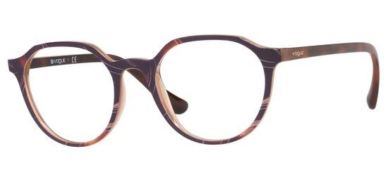 lunettes de vue Vogue VO5226-2695 Marron Ecaille
