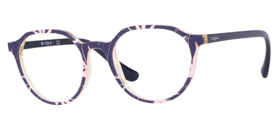 lunettes de vue Vogue VO5226-2696 Bleu Rose Jaune