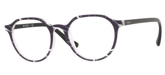 lunettes de vue Vogue VO5226-2698 Noir Cristal