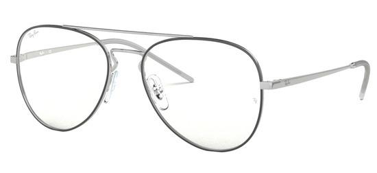 lunettes de vue Ray-Ban RX6413-2983 Argent Noir