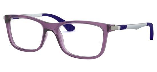 lunettes de vue Ray-Ban RY1549-3735 Bleu Bleu Translucide