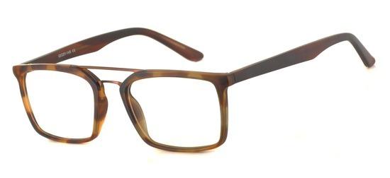 lunettes de vue ExperOptic Trudo Ecaille claire