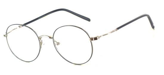 lunettes de vue ExperOptic Talmus Argent Bleu