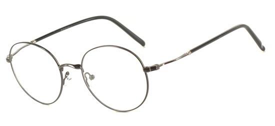 lunettes de vue ExperOptic Talmus Gun Noir