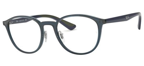 lunettes de vue Ray-Ban RX7156-5796 Bleu Nuit