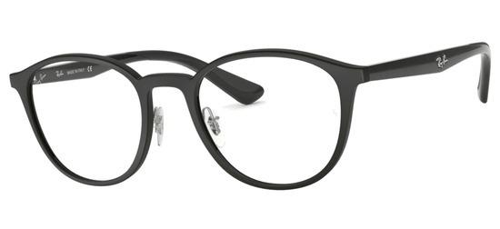 lunettes de vue Ray-Ban RX7156-5841 Noir Mat