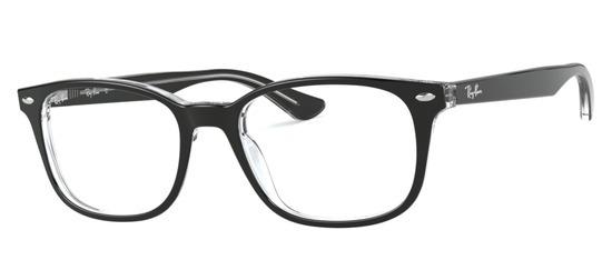 lunettes de vue Ray-Ban RX5375-2034 Noir Cristal
