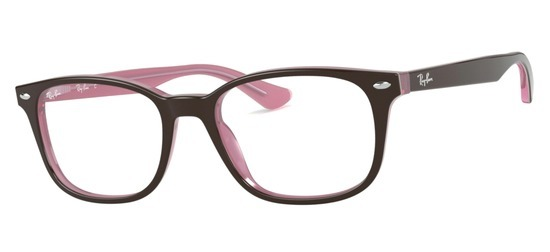 Ray-Ban RX5375-2126 Marron Rose