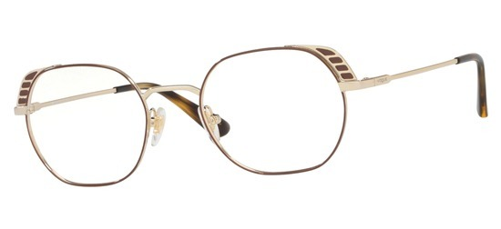 lunettes de vue Vogue VO4131-5021 Or Marron