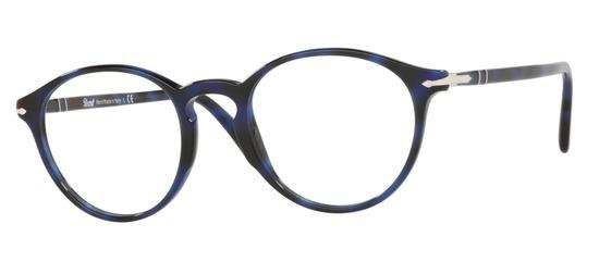 lunettes de vue Persol PO3174-1099 Bleu Marbre