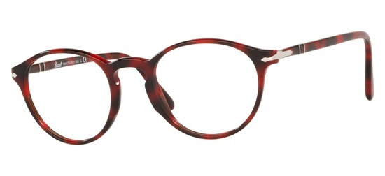 lunettes de vue Persol PO3174-1100 Rouge Marbre