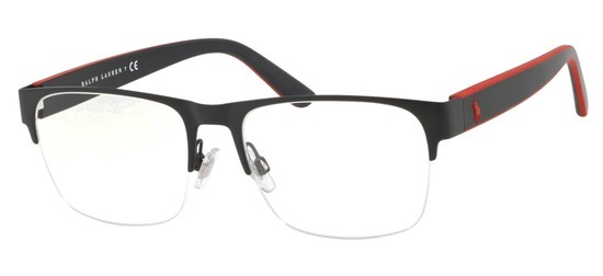 lunettes de vue Ralph Lauren Polo PH1187-9038 Noir Mat