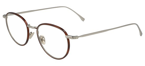 lunettes de vue Lacoste L2602ND-214 Havane Tabac
