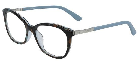 lunettes de vue Calvin Klein CK20508-454 Ecaille Bleu Ciel