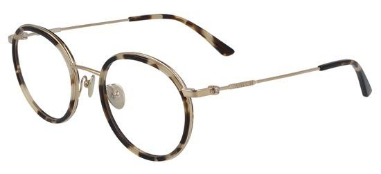 lunettes de vue Calvin Klein CK20108-244 Ecaille Khaki Argent