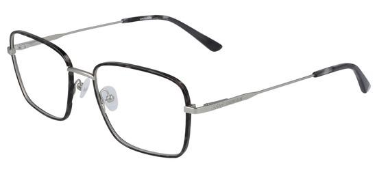 lunettes de vue Calvin Klein CK20114-022 Gris Ecaille Argent