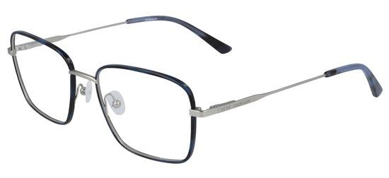 lunettes de vue Calvin Klein CK20114-456 Bleu Ecaille Argent