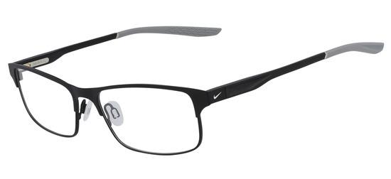 lunettes de vue NIke NI8046-003 Noir Satin Gris
