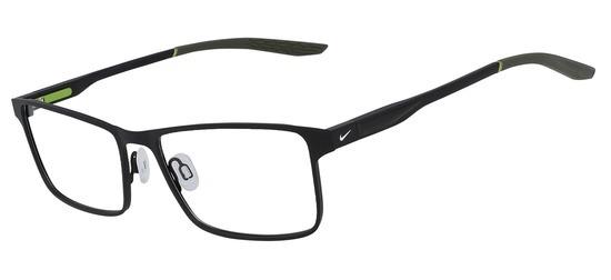 lunettes de vue NIke NI8047-005 Noir Satin Khaki