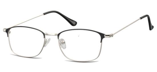 lunettes de vue ExperOptic Key West Argent Noir