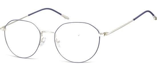 lunettes de vue ExperOptic Key Largo Bleu Argent
