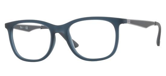 lunettes de vue Ray-Ban RX7078-5679 PROMO T53 Bleu Gris