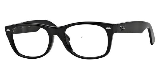 lunettes de vue Ray-Ban RX5184-2000 PROMO T52 New Wayfarer Noir