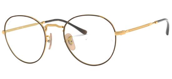 lunettes de vue Ray-Ban RX3582V-2945 Havane Or