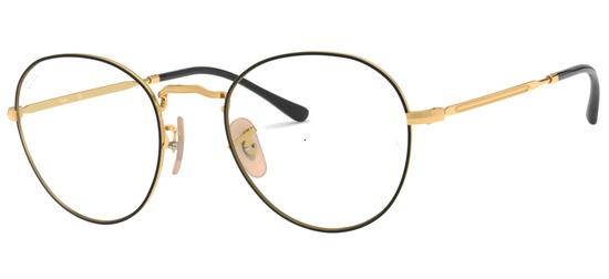 lunettes de vue Ray-Ban RX3582V-2946 Noir Or
