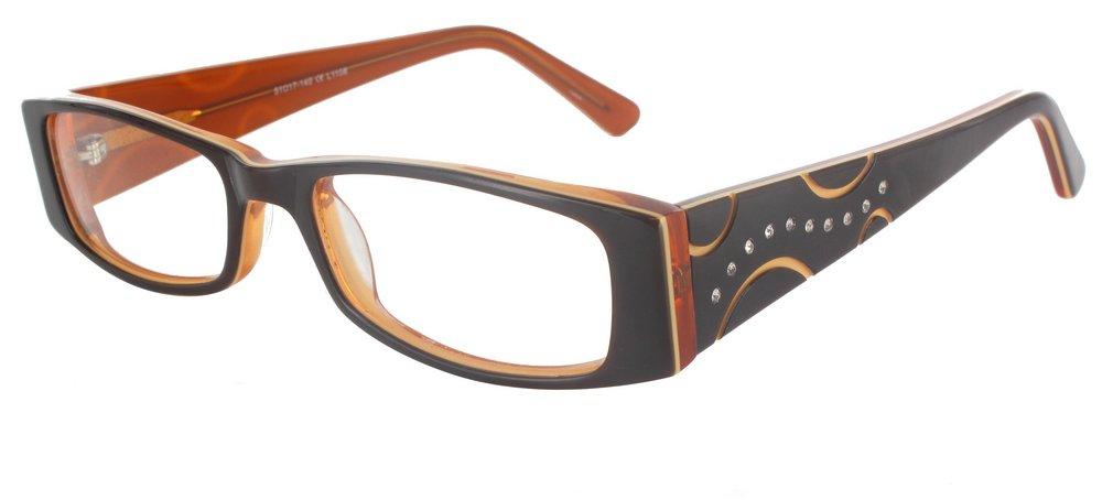 lunettes de vue ExperOptic Aurora Brun et Brun clair