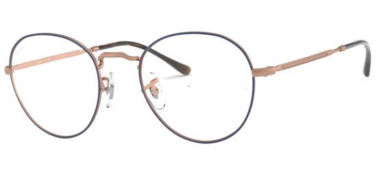 lunettes de vue Ray-Ban RX3582V-3035 Bleu Cuivre