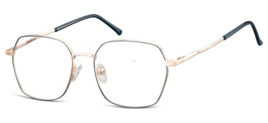 lunettes de vue ExperOptic Olly Bleu Or Rose