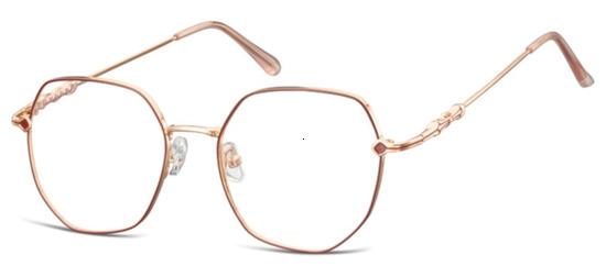 lunettes de vue ExperOptic Mystic Rouge Or Rose