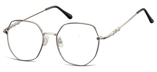 lunettes de vue ExperOptic Mystic Noir Gun Clair