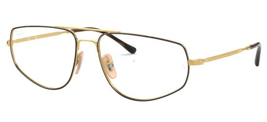 lunettes de vue Ray-Ban RX6455-2945 Havane Arista