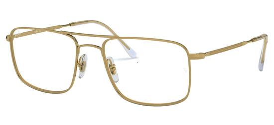 lunettes de vue Ray-Ban RX6434-2500 Arista Or