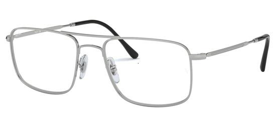lunettes de vue Ray-Ban RX6434-2501 Argent